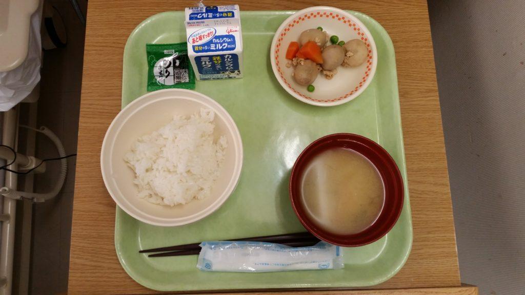 腸閉塞入院生活6日目「病院食おいしいです」